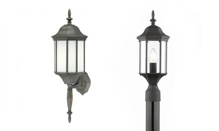 Thomas Lighting Hawthorne 1-Light Outdoor Post Lantern