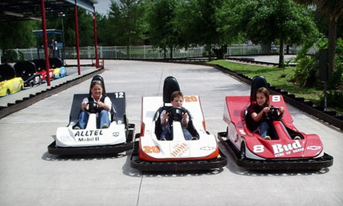 Easy Street Family Fun Center - Ocala: Go-Kart Races, Pizza, Cookies, and Soft Drinks for Two, Four, or Six at Easy Street Family Fun Center (Up to 55% Off)