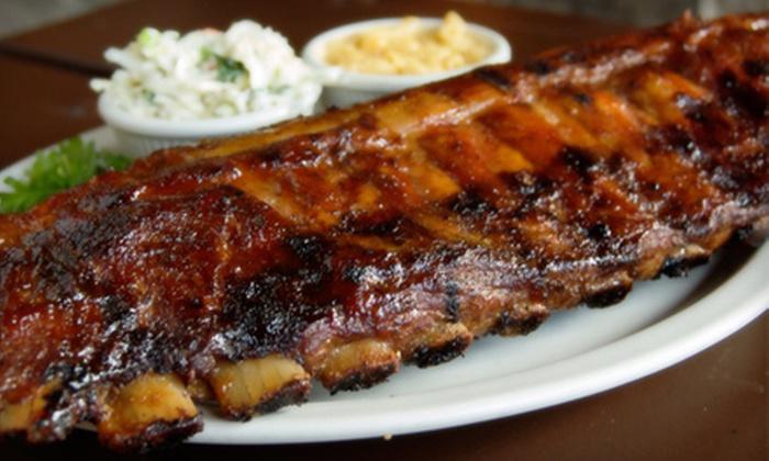 Bubba's Q - Avon: $15 for $30 Worth of Barbecue Fare at Bubba's Q in Avon