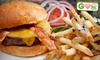 Paradise Grille & Bar - North City: $14 for Two Burgers at Paradise Grille in Del Mar (Up to $32 Value)