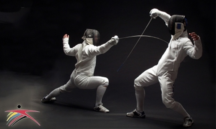 Dallas Fencing Academy - Farmers Branch: $15 for One Introductory Private Fencing Lesson and One Group Lesson at Dallas Fencing Academy ($55 Value)