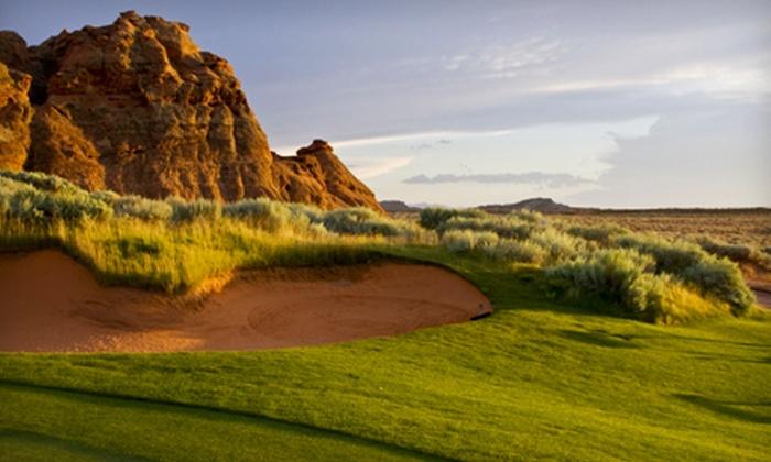 Sand Hollow Resort - Salt Lake City: 18 Holes of Golf, Cart Rental, and Range Balls at Sand Hollow Resort in Hurricane