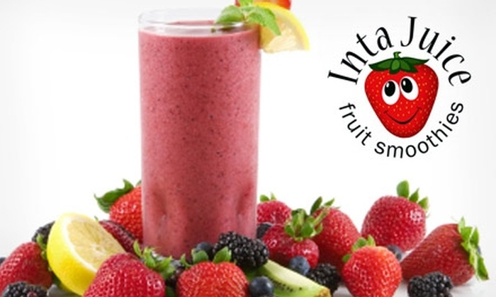 Inta Juice - Summerlin: $3 for $7 Worth of Smoothies or Fruit and Veggie Drinks at Inta Juice
