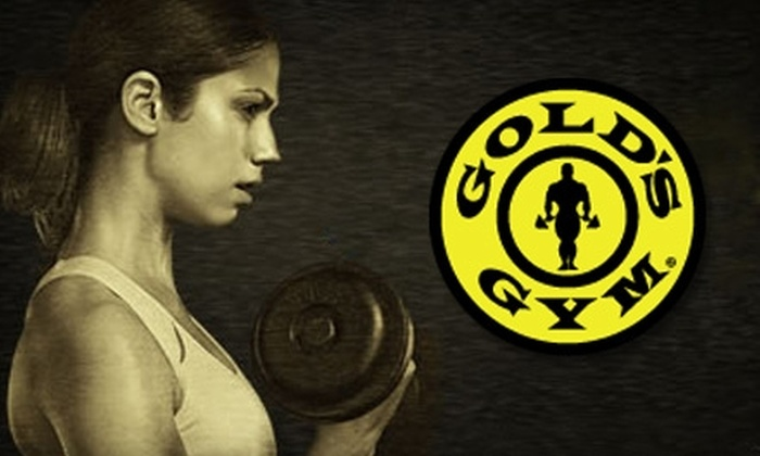 Gold's Gym - Multiple Locations: $10 for 10 Group Exercise Classes (Up to $100 Value) or $29 for Three Personal Training Sessions (Up to $195 Value) at Gold's Gym