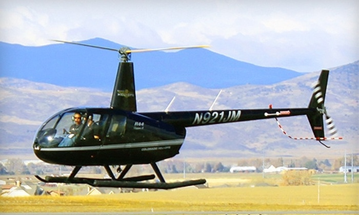 Colorado Heli-Ops - Northeast Jefferson: $99 for a 30-Minute Helicopter Tour of Downtown Denver for One from Colorado Heli-Ops ($199 Value)