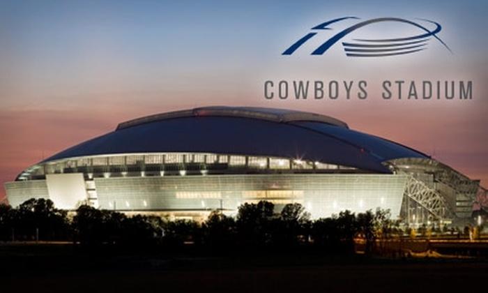 Dallas Cowboys Stadium - Plantation Resort: $27 for a VIP Guided Tour of the Dallas Cowboys Stadium