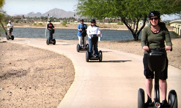 Segway of Scottsdale - Multiple Locations: $39 for a 90-Minute Segway Tour from Segway of Tempe and Scottsdale ($75 Value)