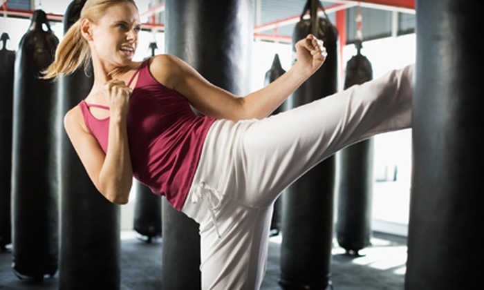 Lion's Den - Central Scottsdale: $19 for a One-Month Membership to Kickboxing Boot Camp at Lion's Den in Scottsdale ($169 Value)