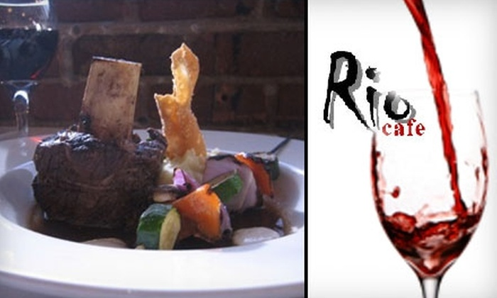 Rio Cafe - Blenman-Elm: $15 for $30 Worth of Latin American Fusion Fare at Rio Cafe