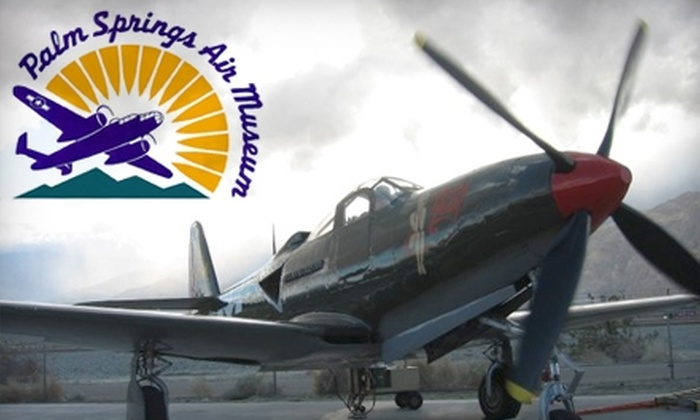 Palm Springs Air Museum - Palm Springs: $6 for Admission to the Palm Springs Air Museum (Up to $14 Value)