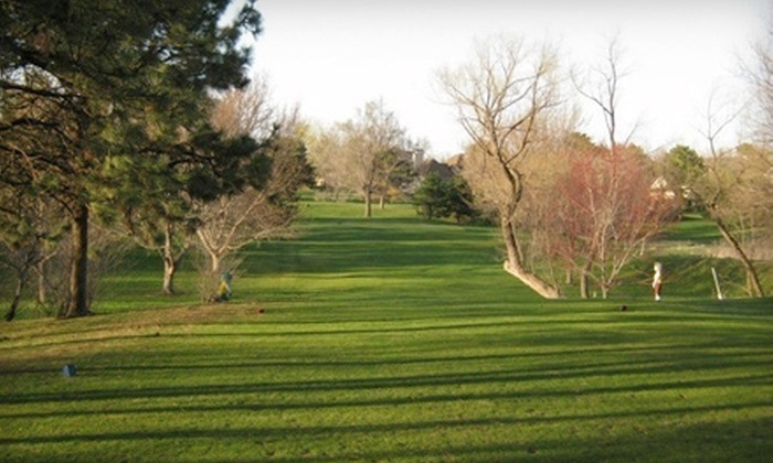 Pine Lake Golf & Tennis - Lincoln: $10 for 9 Holes of Golf for Two Plus Tees and Pull Carts at Pine Lake Golf & Tennis Club (Up to $21 Value)