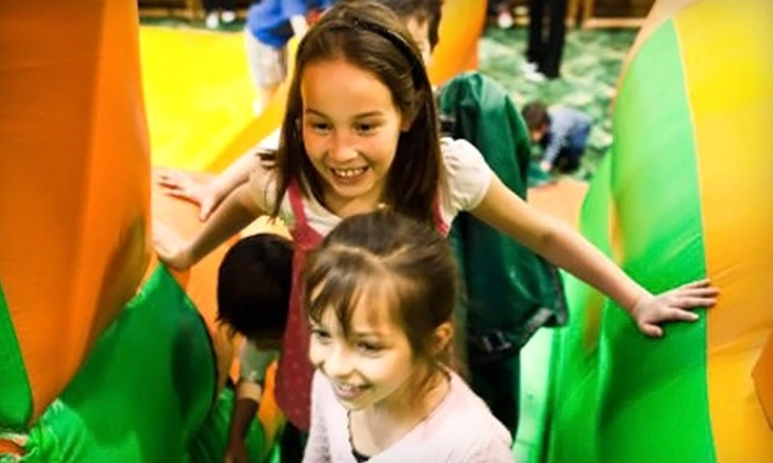 Scooter's Jungle - Placentia: $15 for Four Open-Play Admissions to Scooter's Jungle in Placentia (Up to $36 Value)