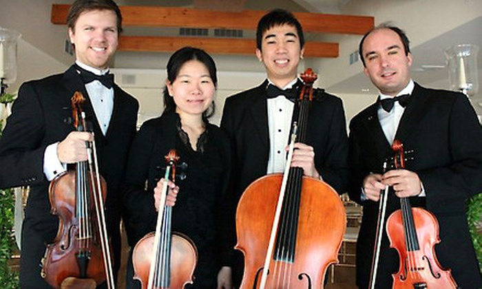 Boston String Quartet's New Years Eve Ball - West Reading: $48 for One Ticket to the Boston String Quartet's New Year's Eve Ball at the Fred Astaire Ballroom (Up to $96.50 Value)