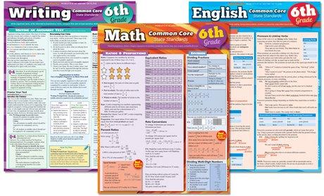 6th, 7th, or 8th Grade Laminated Study Bundles