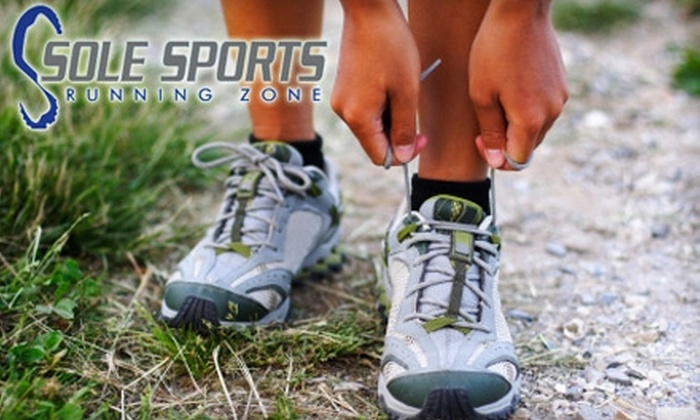 Sole Sports Running Zone - Tempe: $25 for $50 Worth of Running Shoes at Sole Sports Running Zone