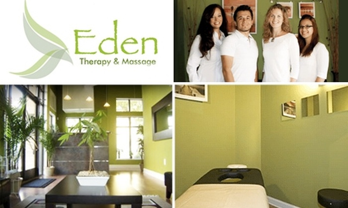 Eden Therapy and Massage  - Dilworth: $30 for One-Hour Swedish Massage from Eden Therapy