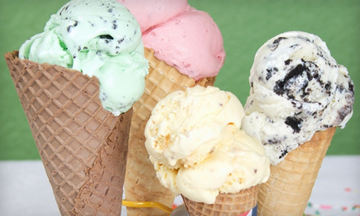 Old Time Scoops - South Eugene: 5 or 10 Ice-Cream Treats or $5 for $10 Worth of Café Lunch Fare at Old Time Scoops