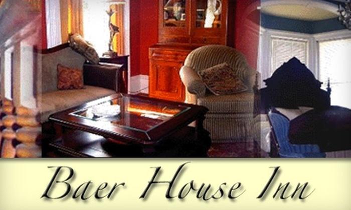 Baer House Inn - Vicksburg: $55 for a One-Night Stay at Baer House Inn in Vicksburg ($115 Value)