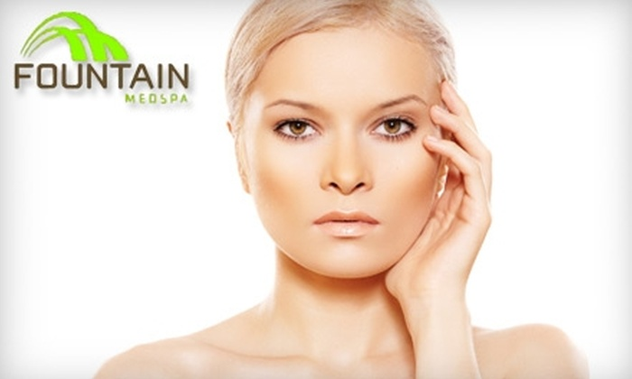 Fountain Med Spa - Harding: $150 for Three Laser Hair-Removal Treatments at Fountain Med Spa
