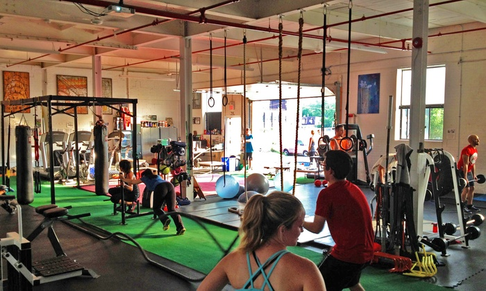Primal Movement - Leslieville: One Month of Classes or 3 or 6 Personal-Training Sessions with Gym Access at Primal Movement (Up to 67% Off)