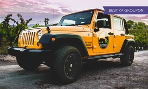Sunrider Wine Tours Inc.: Off-Road Wine Tour with Lunch for One or Two from Sunrider Wine Tours (Up to 38% Off)