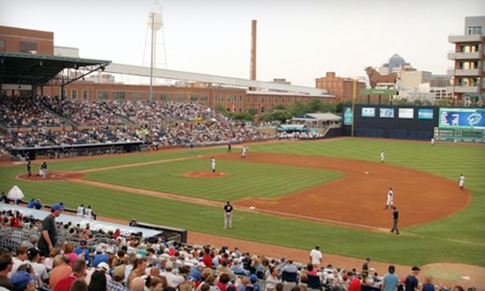 Durham Bulls - Downtown: Outing for Up to Four at Durham Bulls Baseball Game