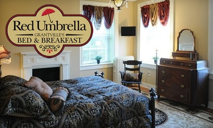 Red Umbrella Bed & Breakfast - East Hanover: $64 for a One-Night Stay for Two at Red Umbrella Bed & Breakfast