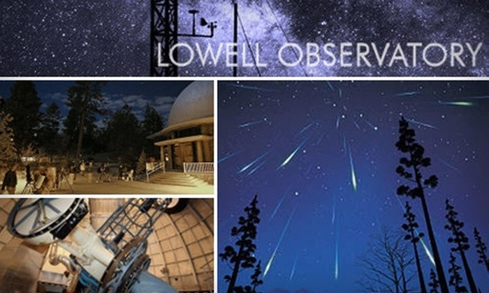 Lowell Observatory - Flagstaff: $30 for a One-Year Basic Membership to the Simply Stellar Lowell Observatory ($60 Value)