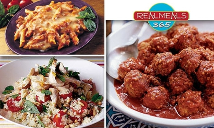 Real Meals 365 - Washington Ave./ Memorial Park: $10 for $25 Worth of Handmade Dishes from Real Meals 365