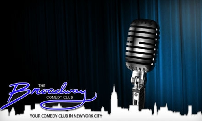 Broadway Comedy Club - Clinton: $10 for One Ticket to Any Show at Broadway Comedy Club