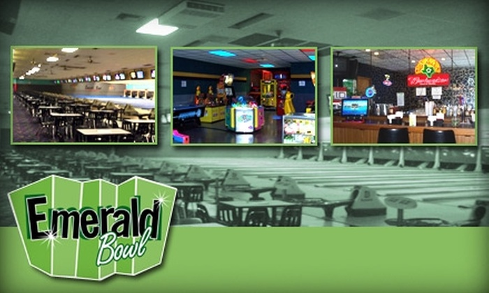 Emerald Bowl - Alief: $20 for $45 Worth of Lanes and Shoes at Emerald Bowl