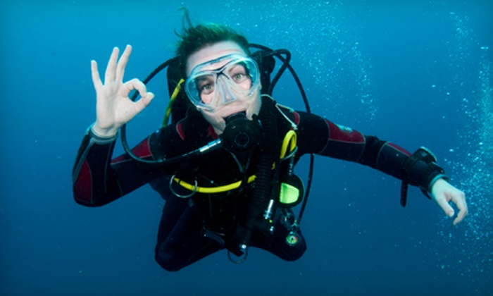Bluewater Scuba - Franklin: $299 for a Complete Diving-Certification Course at Bluewater Scuba in Franklin (Up to $676 Value)