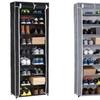 9-Tier Roll-Up Shoe Closet