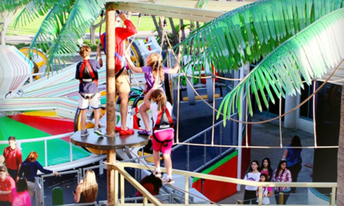 Mission Beach Attractions - Belmont Park: Unlimited Attractions for One or Two, or Mini Golf and Unlimited Attractions for Four at Belmont Park (Up to 55% Off)