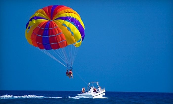 Daytona Beach Parasail - Pons Grant: 2,000-Foot-High Parasailing Flights for One or Two from Daytona Beach Parasail (Up to 52% Off)