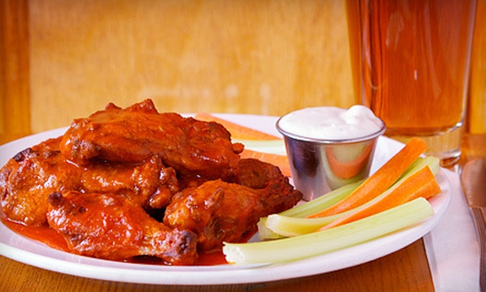 iAdventure.com - Clinton: $14 for 10 Wings and a Pitcher of Beer at Little Town from iAdventure.com (Up to $30 Value)