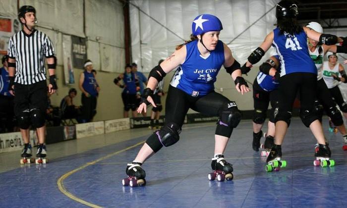 Jet City Rollergirls - Everett Skate Deck: Four Days of Sports Camp at Jet City Rollergirls (70% Off)