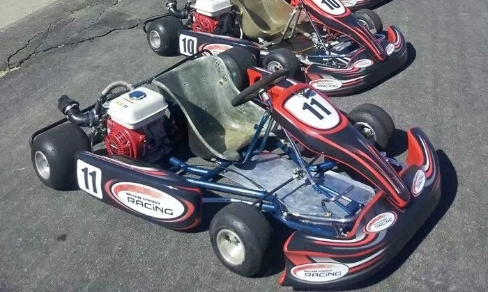 Willow Springs Racing - Rosamond: 100-Lap Racing Adventure for One or Two with Option for 125cc Cart at Willow Springs Racing (Up to 59% Off)
