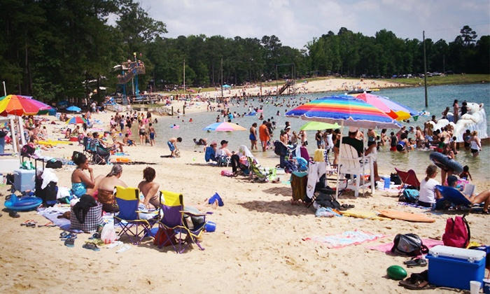 Tucker Lake Water Park - Banner: Admission for Two or Four to Tucker Lake Water Park (50% Off)