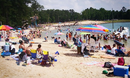 Admission for Two or Four to Tucker Lake Water Park (50% Off)