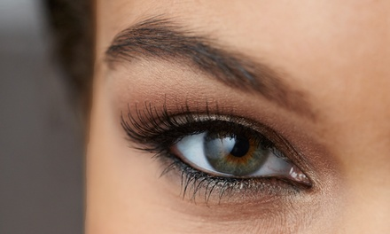 Permanent Eyeliner or Eyebrow Makeup at Hue by Monique Cherise Salon (Up to 68% Off)