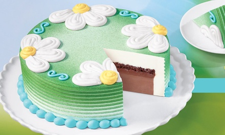 8-Inch, 10-Inch, or 10-Inch By 14-Inch Ice Cream Cake, or Pre-Packaged Ice Cream at Dairy Queen (Up to 40% Off)