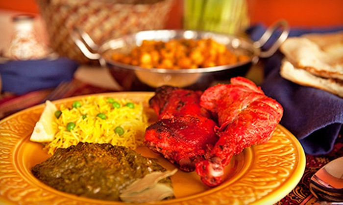 Koyla Indian Restaurant - Rancho Cucamonga: Dinner for Two with Appetizer or Lunch Buffet for Two at Koyla Indian Restaurant (Up to 51% Off)