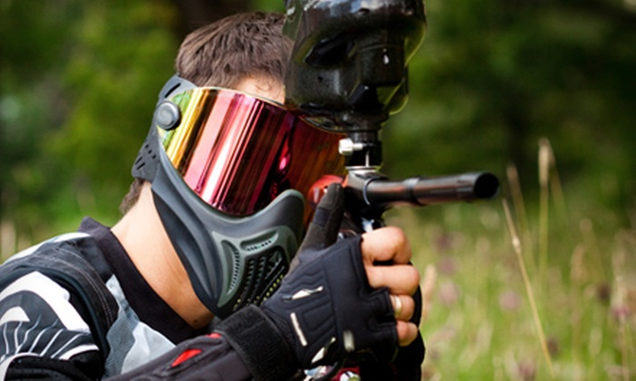 Paintball Plex - Laotto: $15 for an All-Day Paintball Package Including Equipment Rental and 200 Paintballs at Paintball Plex in Laotto  ($35 Value)