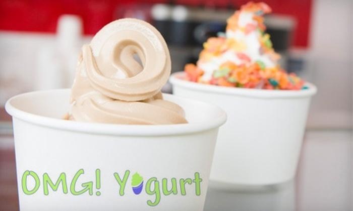 OMG! Yogurt - Sacramento: $4 for $8 Worth of Frozen Treats and Sweets at OMG! Yogurt in Rocklin