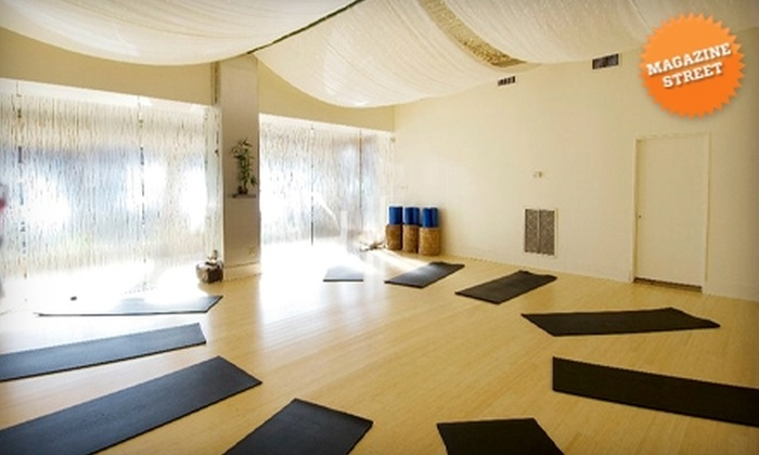 Romney Pilates Center - New Orleans: $37 for Your Choice of Five Mat Pilates or Pulse Pilates Classes at Romney Pilates Center ($75 Value)
