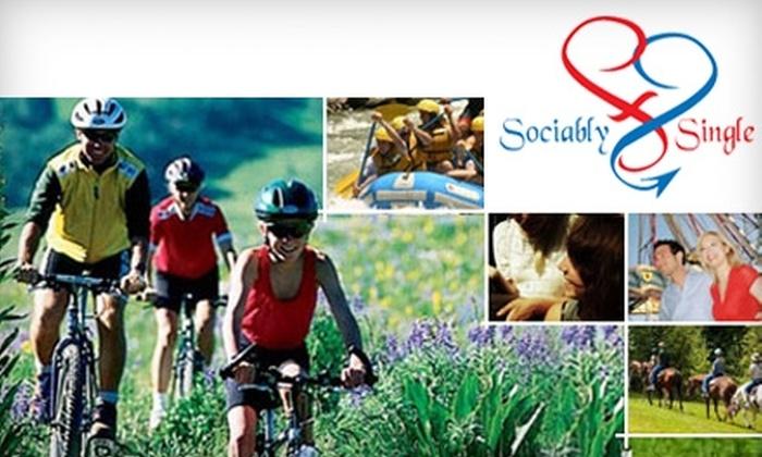 Sociably Single - San Jose: $45 for a Two-Month Membership to Sociably Single