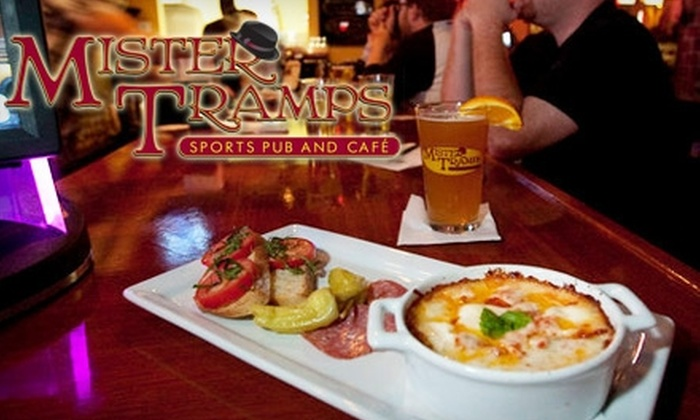 Mister Tramps Sports Pub and Café - North Austin Civic Association: $10 for $20 Worth of Casual Pub Fare at Mister Tramps Sports Pub and Café