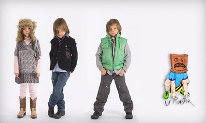 Lil' Monster Clothing - Calabasas: $25 for $50 Worth of Children's Apparel and More at Lil' Monster Clothing in Calabasas