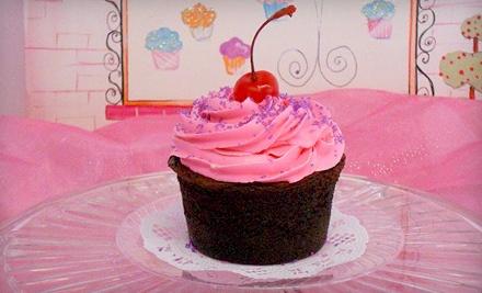 A Dozen Regular Cupcakes (a $24 value) - Dixie's Cutie Cakes & Cupcakes Bakery in